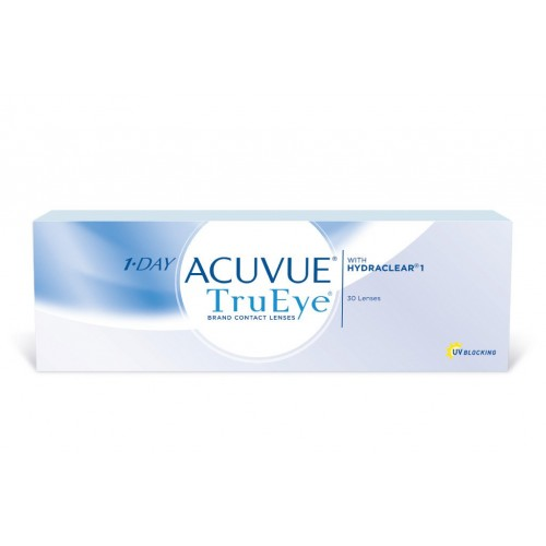 Однодневные контактнные линзы1-Day Acuvue TruEye Johnson & Johnson