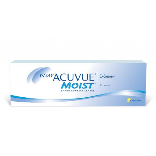 Однодневные контактные линзы 1-Day Acuvue Moist Johnson & Johnson - Фото №1