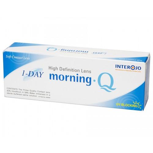 Однодневные контактные линзы Morning Q 1-DAY INTEROJO - Фото №1
