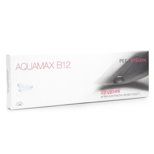 Однодневные контактные линзы Aquamax-B12 PEGAVISION