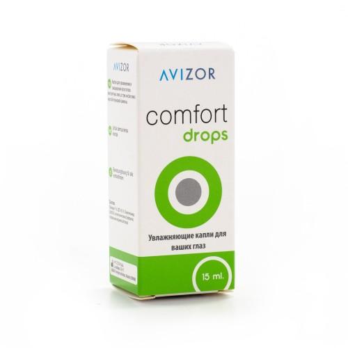 Увлажняющие капли Comfort Drops Avizor