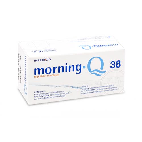 Квартальные контактные линзы Morning Q 38 INTEROJO