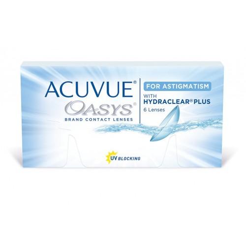 Двухнедельные торические контактные линзы Acuvue Oasys for ASTIGMATISM Johnson & Johnson