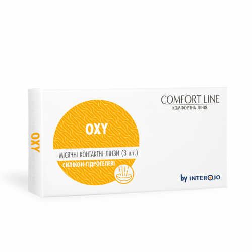 Месячные контактные линзы OXY Comfort Line - Фото №1