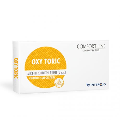 Месячные торические контактные линзы OXY Toric Comfort Line - Фото №1