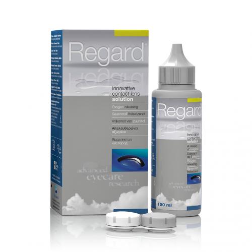 Раствор для контактных линз Regard Vita Research - Фото №1