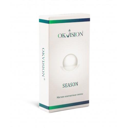 Квартальные контактные линзы Season OkVision - Фото №1