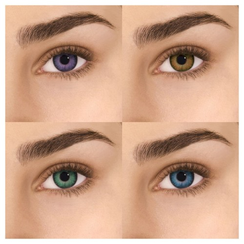 Цветные контактные линзы FreshLook Colors Alcon - Фото №1