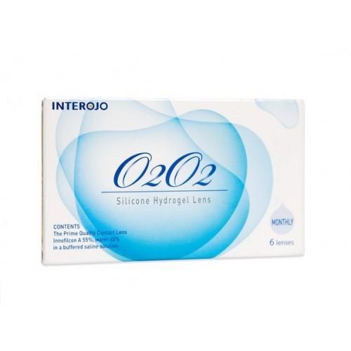 Месячные контактные линзы O2O2 INTEROJO
