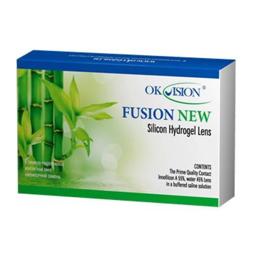 Месячные контактные линзы Fusion NEW OkVision