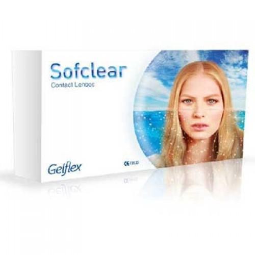Месячные контактные линзы Sofclear Gelflex