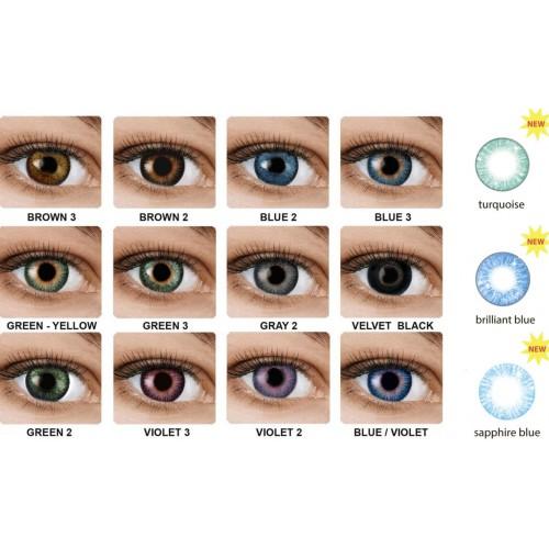 Цветные контактные линзы Fusion OkVision - Фото №1