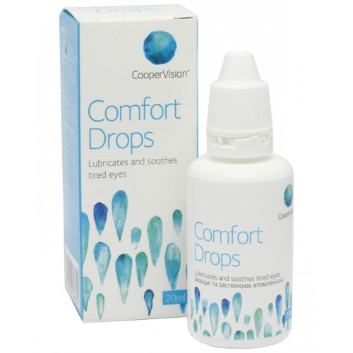 Увлажняющие капли Comfort Drops Cooper Vision